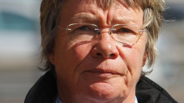 Dr Jane Barton during the inquests in 2009 into the deaths of elderly patients at Gosport War Memorial Hospital