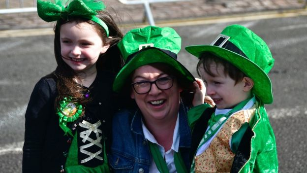 St Patrick S Day Parades Held In London And Birmingham Bbc