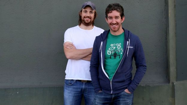 Mike Cannon-Brookes and Scott Farquhar