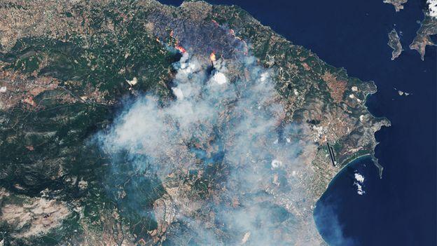 Kalamos fires