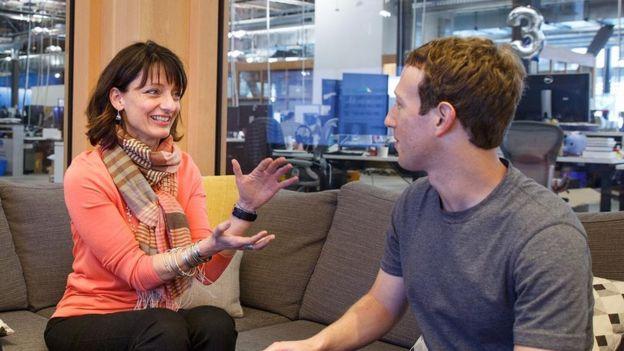 Dugan y Zuckerberg