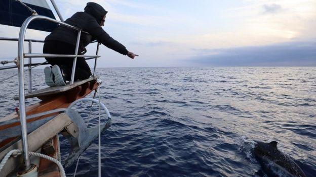 La pareja entendió del problema cuando no pudo encallar en islas caribeñas.