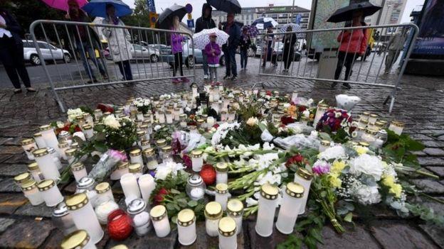 عامل حمله فنلاند 'زنان را هدف قرار داد'