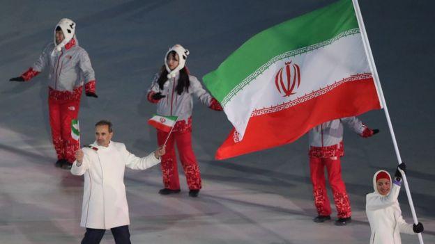 رژه ورزشکاران ایرانی -