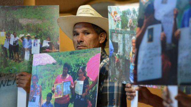 Protesta minera Honduras