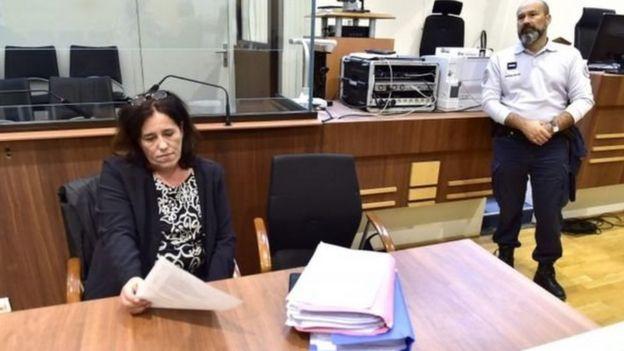 تبين في المحكمة أن دا كروز أخفت في السابق اثنتين من حالات حملها عن شريكها