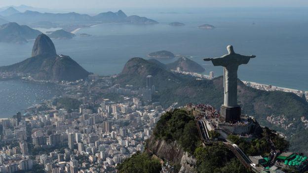 Skyline of Rio de Janeiro (file photo)