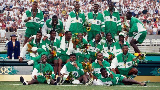 Nigeria con el oro olímpico