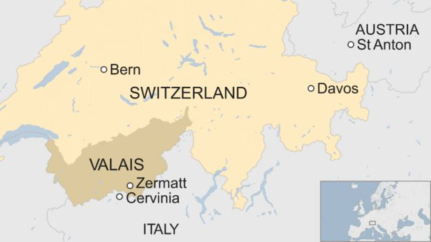 Zermatt Resort Map on