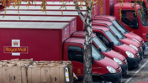 Yeni teknoloji Kraliyet Posta İdaresi'nde anlaşmazlığa yol açmıştı