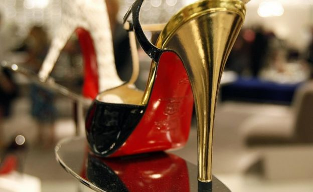 Christian Louboutin heels are seen on display on 17 August 2007