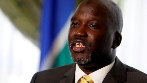 Tuntutan dipimpin Menteri Kehakiman Gambia.