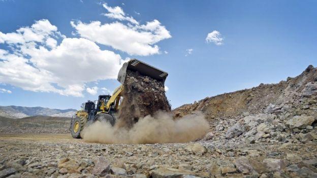 美国加州芒廷山口稀土矿