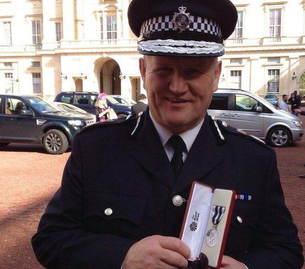 Durham Police Chief Constable Michael Barton