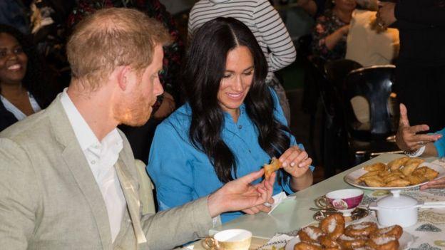 Гарри и Меган в сентябре 2019 года