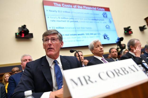 Corbat testifica ante el Congreso de EE.UU.