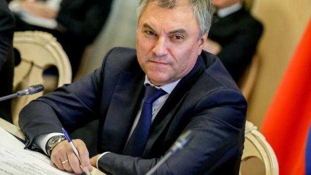 спикер Думы Вячеслав Володин
