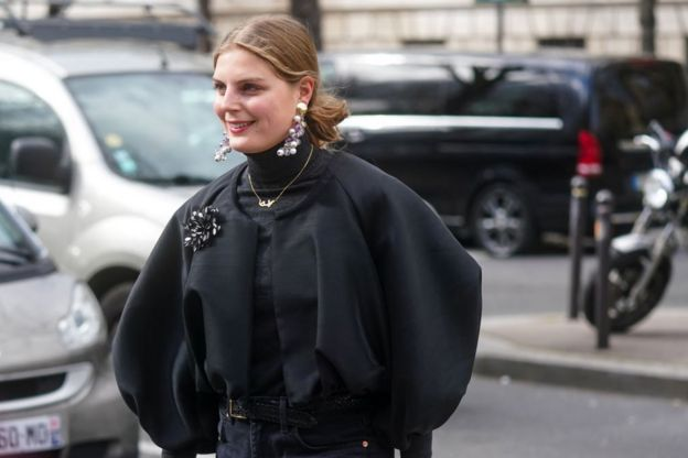 гостья Недели моды в Париже, март 2020