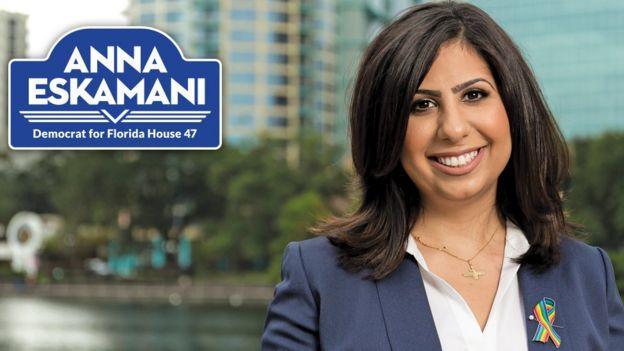 همچنین، یک زن آمریکایی-ایرانی، آنا ویشکای اسکمانی نیز به عضویت مجلس نمایندگان ایالت فلوریدا انتخاب شده است.