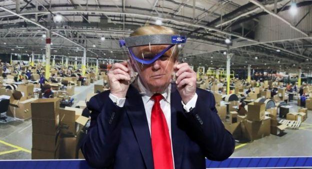 ترامپ در کارخانه فورد