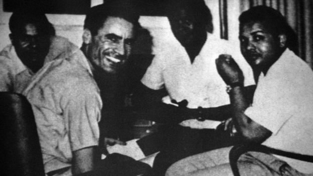 ১৯৬৯ সালে বিপ্লবের সময় গাদ্দাফি ও তার সহযোগীরা