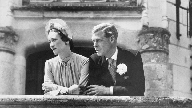 Wallis y Eduardo, el día de su boda.