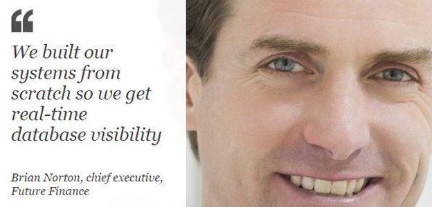 Brian Norton, CEO Future Finance