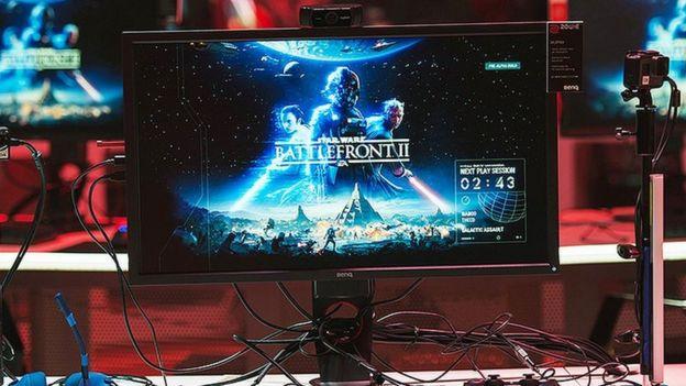 EA game Star Wars Battlefront II