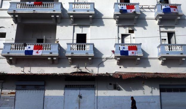 Banderas panameñas