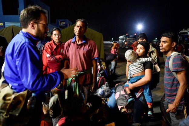 El chavismo niega la crisis migratoria y la califica de fake news