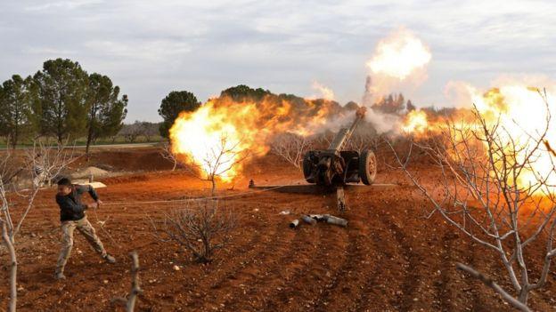 مسلحو المعارضة السورية