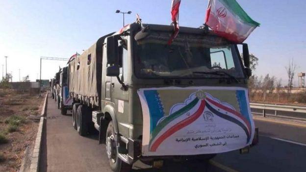کاروان کمکهای ایران در سوریه (زمان نامعلوم)