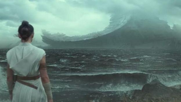 Adegan terakhir dalam video cuplikan The Rise of Skywalker menampilkan bangkai Death Star