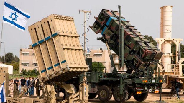 Israeli anti-missile system.