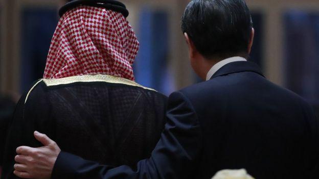 Çin Dışişleri Bakanı Wang Yi ve Suudi Arabistan Dışişleri Bakanı Adel El-Cubeyr
