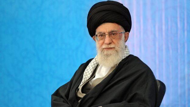 آیتالله خامنهای رهبر ایران