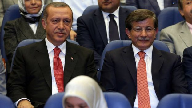 Erdogan and Davutoglu