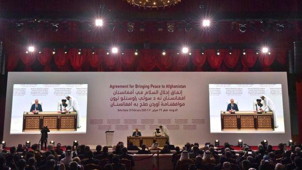 موافقتنامه آمریکا و طالبان