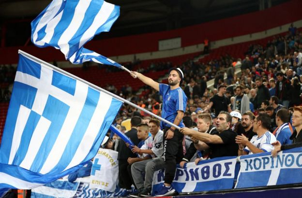 Aficionados de Grecia