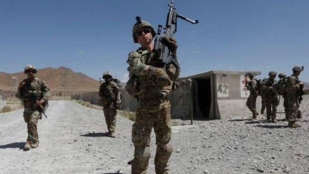 Afganistan'daki ABD'deki Amerikan askerleri
