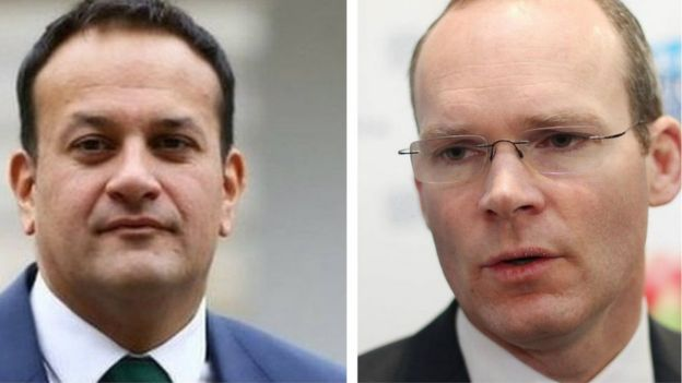 Leo Varadkar and Simon Coveney
