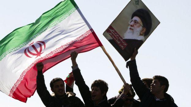 伊朗伊斯兰革命33周年纪念,资料图片