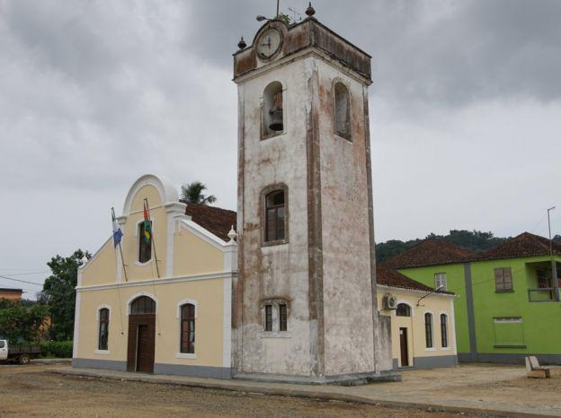 Igreja católica em São Tomé