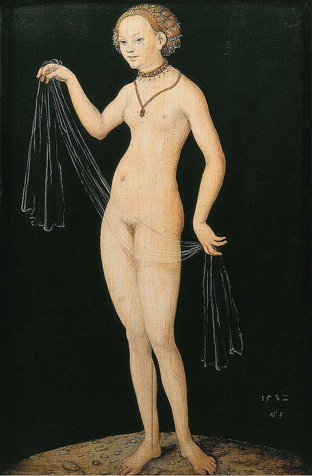 Venus de Lucas Cranach el Viejo. Dominio Público.