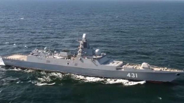 La Flota del Norte de Rusia es una de las fuerzas navales presentes en la zona ártica.