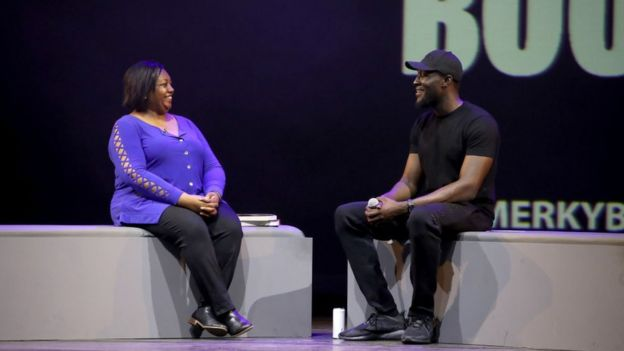 Malorie Blackman and Stormzy