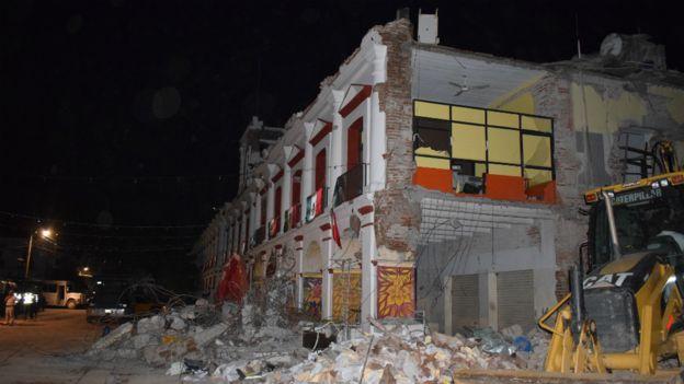 Cientos de viviendas han quedado seriamente dañadas.