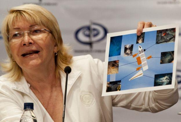 Ortega Díaz es la primera alta funcionaria en criticar la decisión del TSJ.