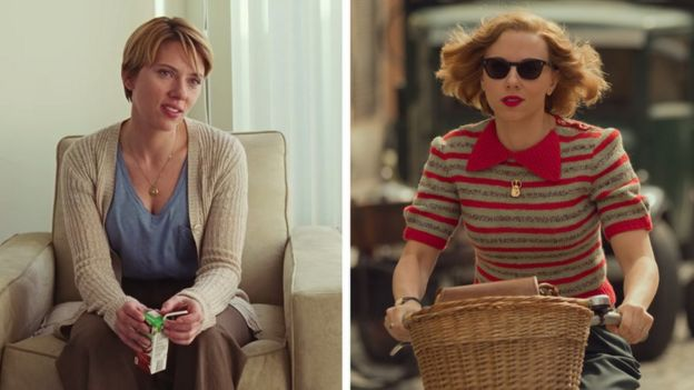 Scarlett Johansson in Marriage Story and Jojo Rabbit