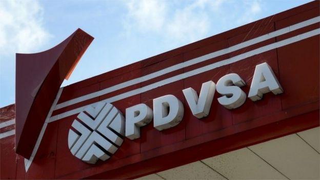 Logo de PDVSA.